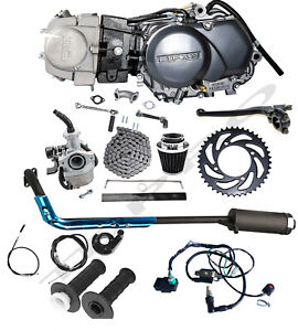 Lifan 125cc Engine Motor Kit Manual Pit Bike CRF50 XR50 Apollo Taotao CT70 ATC70