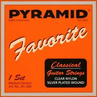 PYRAMID Favorite 4/4 Konzert Gitarre Saiten SATZ, Classical Guitar Strings SET