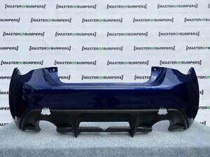TOYOTA GT86 SUBARU BRZ 2013-2018 REAR BUMPER IN BLUE GENUINE [T117]
