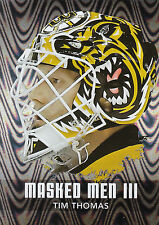 10/11 BETWEEN THE PIPES MASK MASKED MEN III SILVER MM-48 TIM THOMAS BRUINS 20988