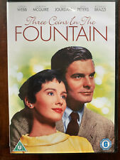 Three Coins in a Fountain DVD 1954 Trevi Rome Roma Romantic Drama Movie Classic