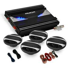 4.0 CAR STEREO SYSTEM SET 2800W SPEAKERS AMPLIFIER AMP *FREE P&P SPECIAL OFFER