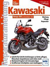 Kawasaki Versys 650 Reparaturanleitung Reparaturbuch Reparatur-Handbuch ABS neu