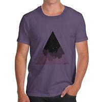 Twisted Envy Triangle Landscape Men's Funny T-Shirt