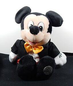 Authentic 2000 Walt Disney World Bean Bag Mickey Mouse Park Costume MWT