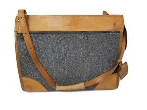 Vintage Hartmann Tweed Luggage Cosmetic Bag