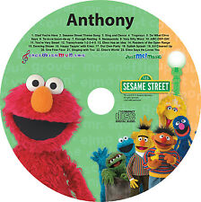 Personalized Elmo CD child's name 56X  Digital Copy Also Available w/ Purchase