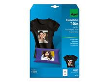 Sigel T-shirt Inkjet-transfer-folien für Dunkle Textilien