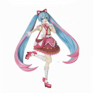 Vocaloid Hatsune Miku Ribbon X Heart Dress Figure Figurine Statue Model No Box
