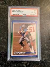 1990 Score Football #20 BARRY SANDERS.......PSA 8