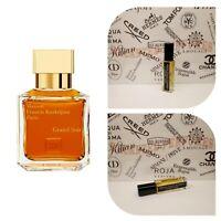 Maison Francis Kurkdjian Grand Soir (Extract based Eau de Parfum Decanted spray)