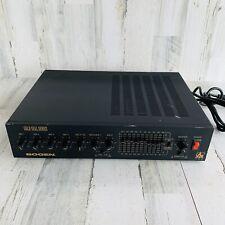 Bogen GS100 100-WATT AMPLIFIER, DUAL EQ APHEX AURAL EXCITER Used