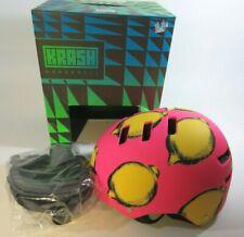 KRASH Pink Lemon Squeezy Hardshell Bike Skate Multi Sport Helmet S 51-56cm NIB