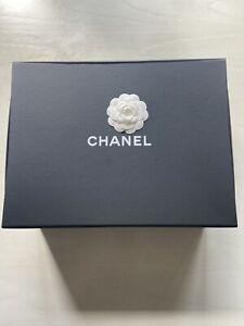 "Chanel Magnetic Fold Empty Purse Storage Box 11"" x 15"" x 6"""