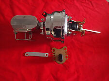 1965-1968 FORD GALAXIE CHROME POWER BOOSTER MASTER AND PROPORTIONING VALVE pv4