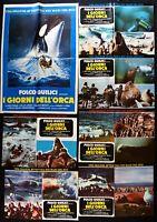 Fotobusta I Tage Dell' Orca Mörder Wild Folco Quilici Sub Taucher R188