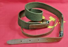 Original Sling Strap Belt PPSH PPS Canvas Leather Russian Unused USSR 1960x
