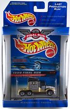 Hot Wheels 1999 Final Run Retired Kenworth T600A Cab #3 New In Box