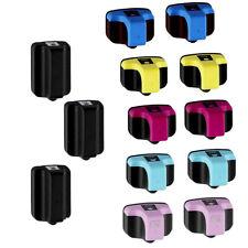 13pk HP 02 High-Yield Ink Cartridges for PhotoSmart C6180 C6280 C8250 3110 3210