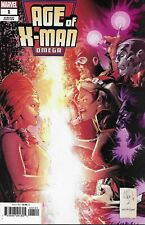 Age Of X-Man Omega Comic Issue 1 Limited Variant Modern Age First Print 2019