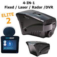 NEW DRIVESMART ELITE 2 RADAR LASER GPS SPEED CAMERA DETECTOR AND DVR DASH CAM