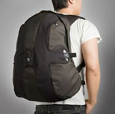Crumpler BB-14A The Beer Back 17 inch Laptop Backpack(Black/Gunmetal)