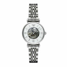 Brand New Emporio Armani Women's Automatic Stainless Steel Strap Watch AR1991