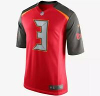 Tampa Bay Bucaneers Mens XL NFL Limited Nike Jersey New Jameis Winston Rare