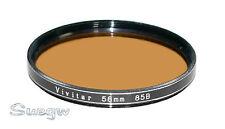 58mm Vivitar 85B Lens Filter