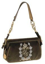 NEW $1225 Dolce & Gabbana D&G Velvet Evening Bag Goldtone Hardware Purse Handbag