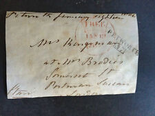6th EARL OF STAIR - SOLDIER IN AMERICAN WAR OF INDEPENDENCE - SIGNED ENVELOPE