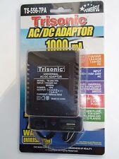 Universal Ac/Dc Power Adaptor 110V/220V Output 1.5 3 4.5 6 7.5 9 12 V 1000 mA
