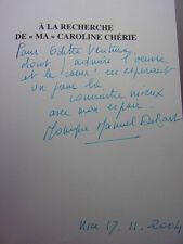 SUCCESSION LINO VENTURA / A LA RECHERCHE DE MA CAROLINE CHERIE  Monique Moerdès