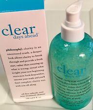 PHILOSOPHY Clear Days Ahead Acne Treatment Cleanser w Salicylic Acid ~ 8oz/240ml