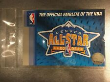 "2005 NBA All Star Game Patch Denver Colorado 5"" X 3"" Allen Iverson MVP"