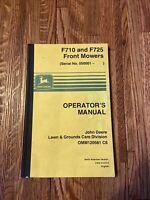 John Deere F710 And F725 Mower OMM120581 Operator's Manual