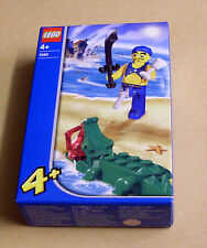 Lego Creator Piraten 7080 Scurvy Dog and Crocodile (Krokodil Box Figur) Neu