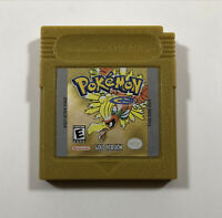 AUTHENTIC Pokemon Gold (Nintendo Game Boy Color) GBC - Tested, battery saves