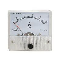 Classe 2.5 di precisione AC 0-10A analogico Panel AMP Meter 85L1 M1S8