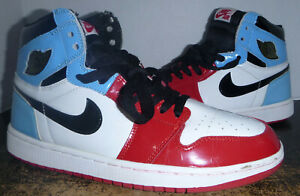 Nike Air Jordan 1 Retro Fearless UNC to Chicago Style #CK5666-100 Size 9.5 USED