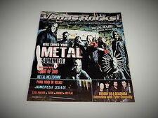 Vegas Rocks Magazine #128 Slipknot Metal Music Issue Rare!