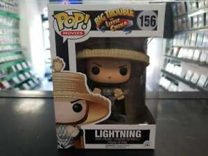 Big Trouble In Little China Lightning Pop #156 Rare/vaulted Fast Delivery