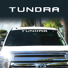TRD Tundra Windshield off road Toyota Decal Sticker Cut Vinyl