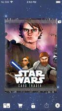 Topps Star Wars Digital Card Trader  Clone Wars Visions Pack Art Insert