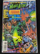 Mars Attacks 1995 2nd Series #6 Topps Comics Apr 1996 Comic Book FREE bag/board