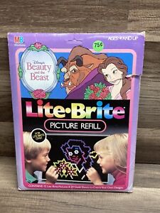 Lite Brite Refill Kit Disney Beauty and The Beast AND Others READ DESCRIPTION