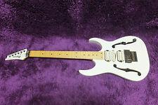 Ibanez Guitar PGM300 Paul Gilbert Model White w/Soft Case 170112