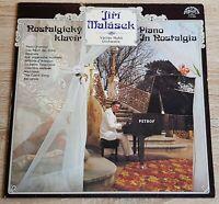 Jiri Malasek Piano in Nostalgia Vaclav Hybs Orchestra Supraphon Stereo 1113 2933