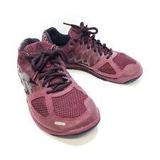 Reebok Nano 2.0 Crossfit Shoes Mens Size 9.5 UK 8.5 EUR 42.5 Rustic Wine/Black