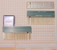 Floppy 5,25 seltener Adapter  1x Buchse Gold + 1x Epoxystecker  NEU ツ